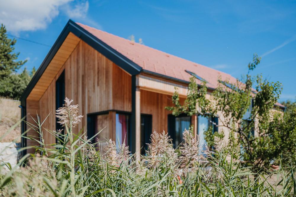 maison bois paille drôme Ardèche