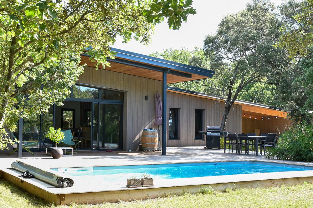 maison bois Grignan