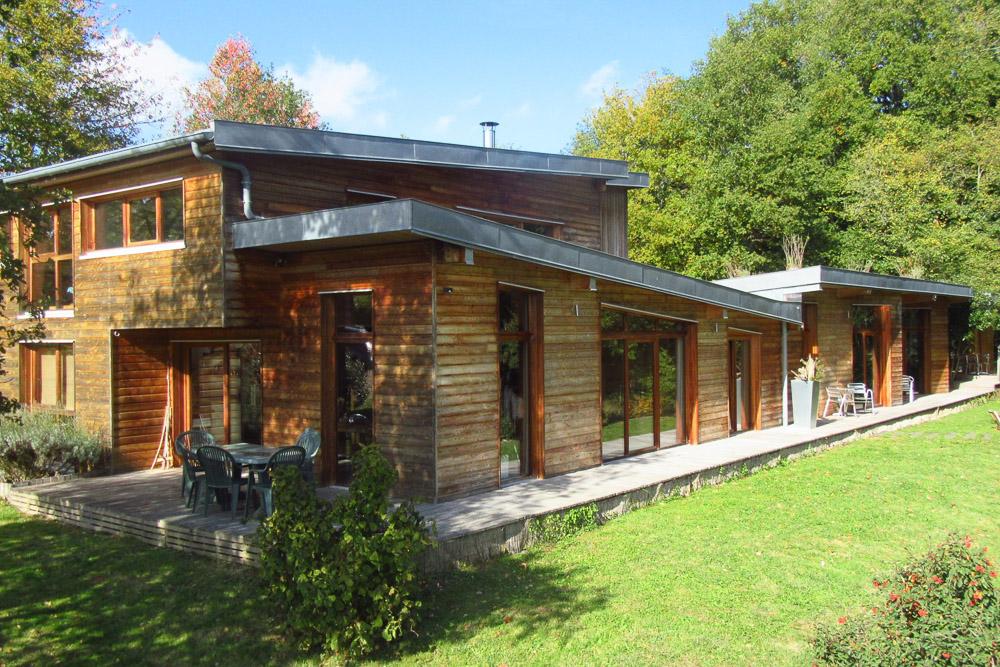 maison bois Mesland