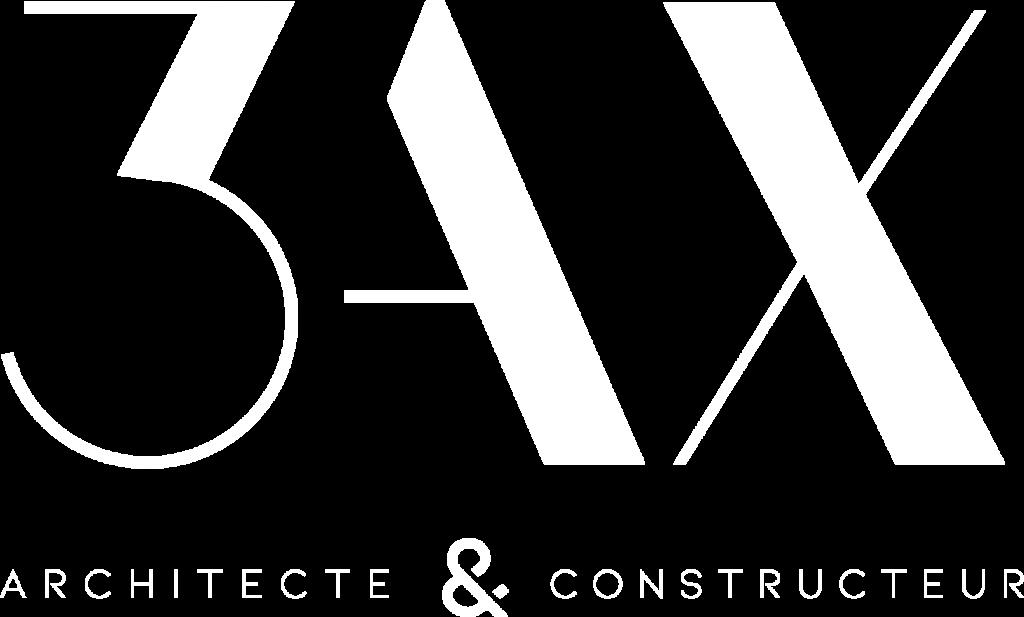 Logo 3AX blanc
