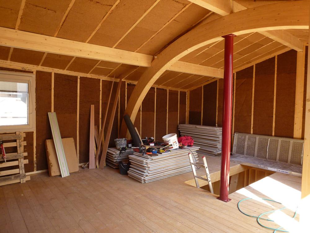 maison bois en construction Montélimar