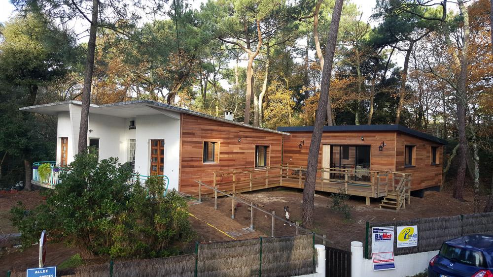 maison ossature bois drôme ardèche